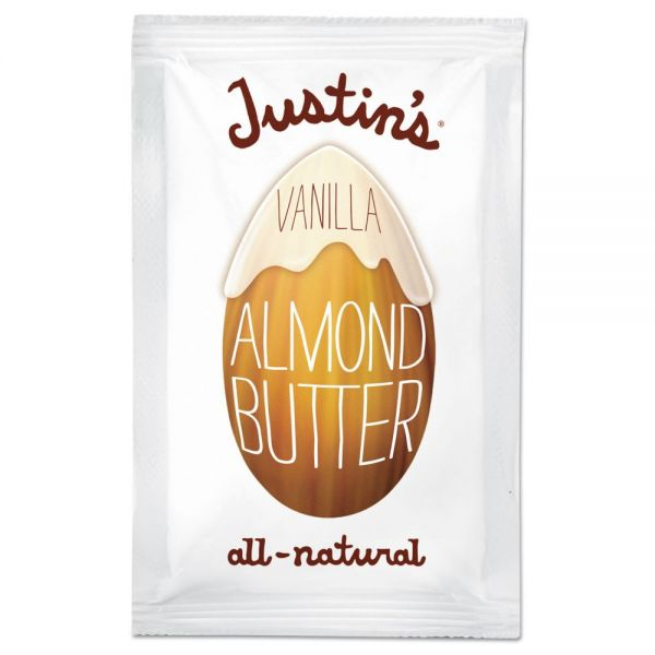 Justin's All-Natural Vanilla Almond Butter Packs