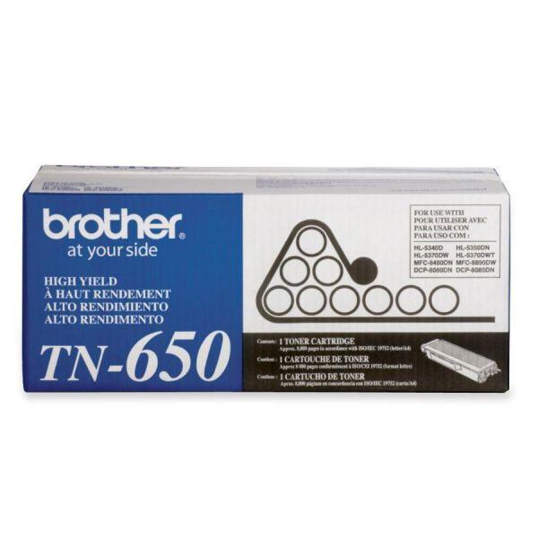 Brother TN650 High Yield Toner Cartridge