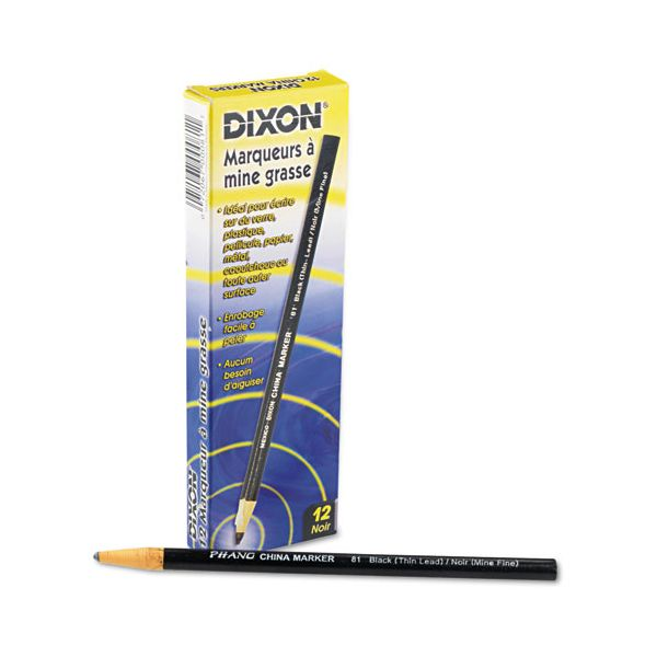 Dixon Phano Nontoxic China Markers
