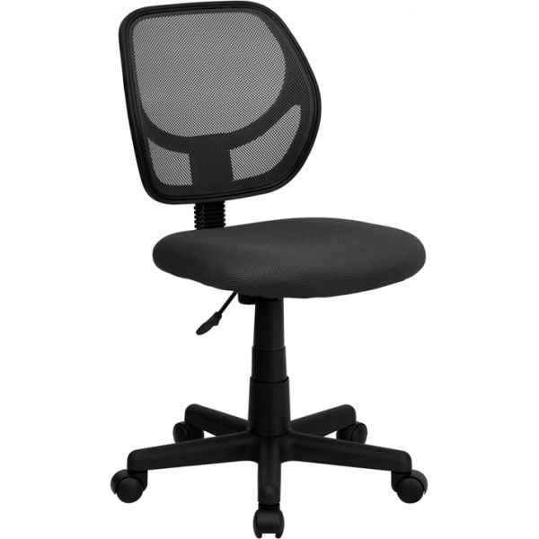 Flash Furniture Gray Mesh Swivel Task Chair