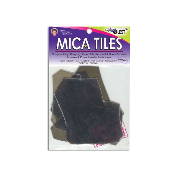 Mica Tile Medium Pieces 1oz
