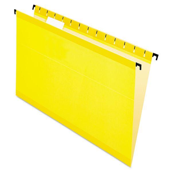 Pendaflex SureHook Poly Laminate Hanging File Folders