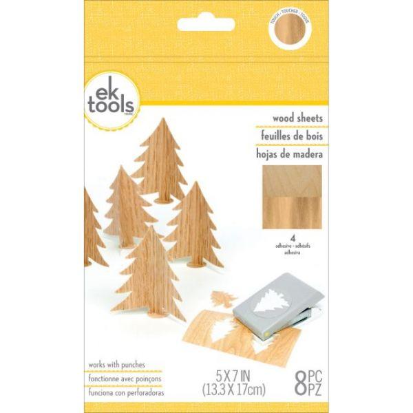 Wood Sheets 8/Pkg