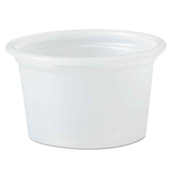 SOLO Cup Company 0.5 oz Plastic Portion Cups