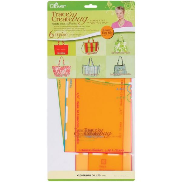 Trace 'n Create Bag Templates W/Nancy Zieman