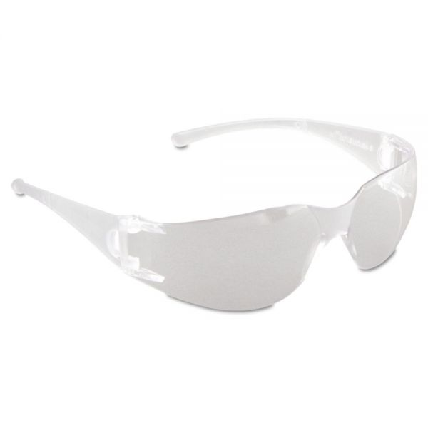 Jackson Safety* V10 Element Safety Glasses, Clear Frame, Clear Lens