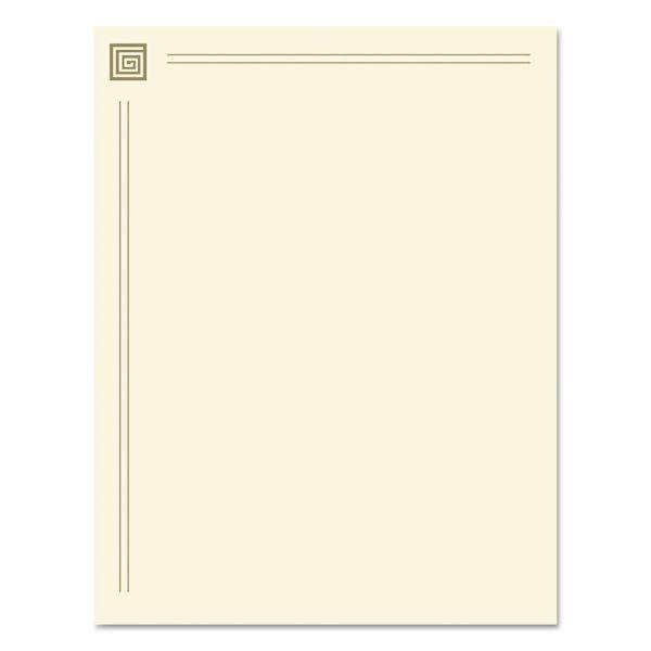 Geographics Design Suite Paper, 28 lbs., 8 1/2 x 11, Gold Foil, 40 Sheets