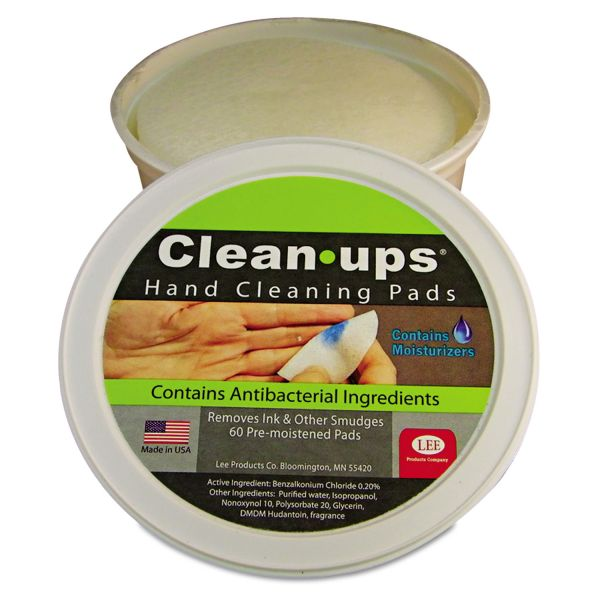 Clean-Ups Hand Cleaning Pads