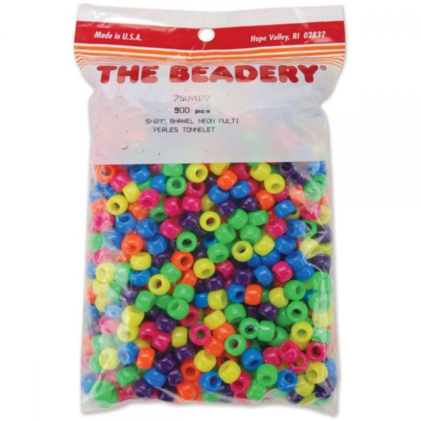Pony Beads 6mmX9mm 900/Pkg