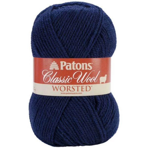 Patons Classic Wool Yarn - Navy