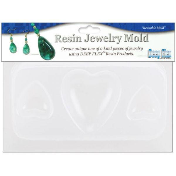 "Resin Jewelry Mold 3""X4"""