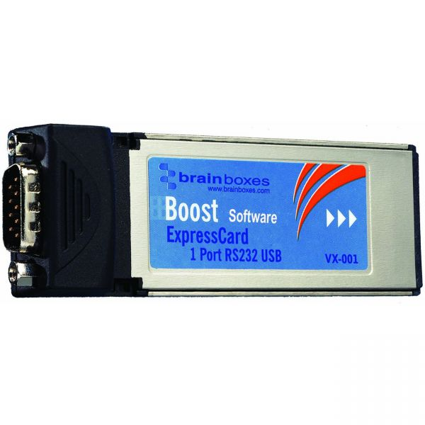 Brainboxes VX-001 1 Port RS-232 Serial Express Card