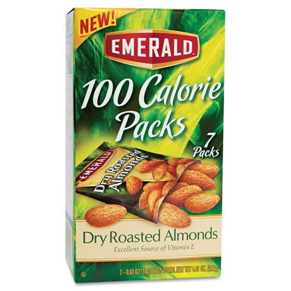 Emerald 100 Calorie Packs Dry Roasted Almonds