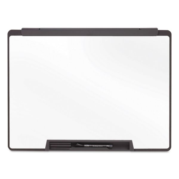 Quartet Motion Portable Dry Erase Board, 24 x 18, White, Black Frame