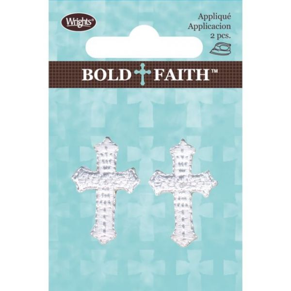 Wrights Bold Faith Iron-On Appliques