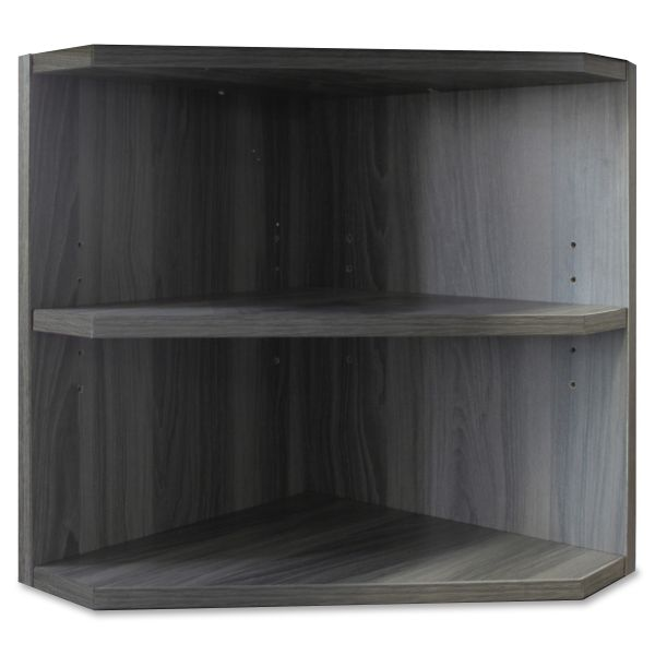 Mayline Medina Series Laminate Hutch Support, 15w x 15d x 20h, Gray Steel