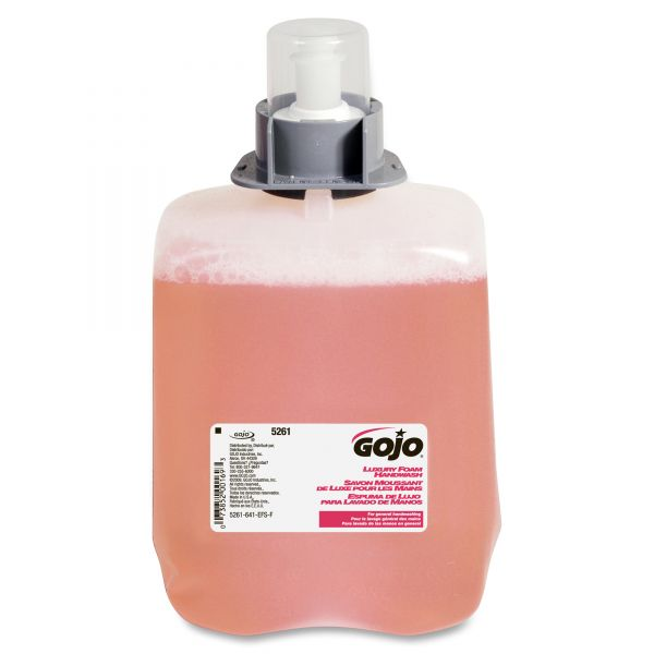 GOJO FMX-20 Luxury Foam Hand Soap Refills