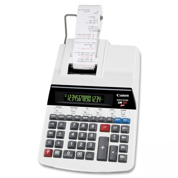 Canon MP41DHIII Heavy-Duty Printing Calculator