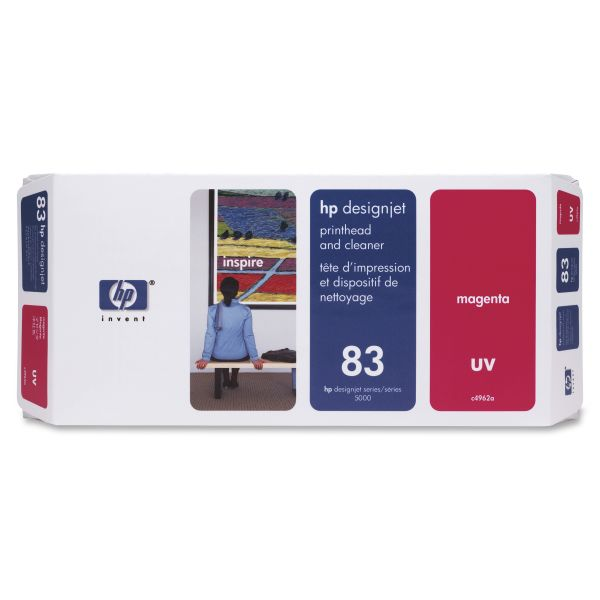 HP 83 UV Magenta Printhead & Cleaner (C4962A)