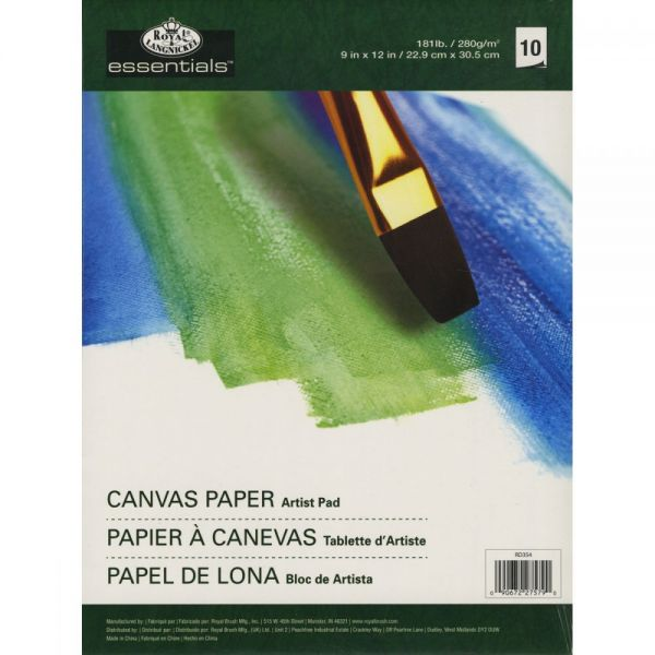 Essentials Canvas Artist Paper Pad
