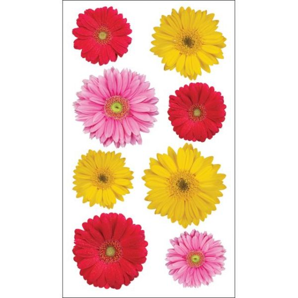 Sticko Photo Flowers Stickers