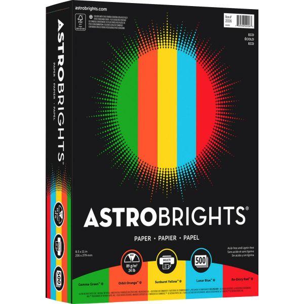 Astrobrights Inkjet, Laser Print Colored Paper
