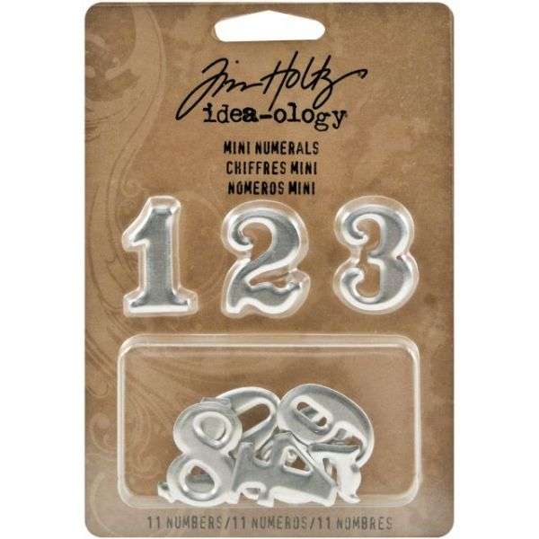 "Idea-Ology Mini Numerals .75""X1"" 11/Pkg"