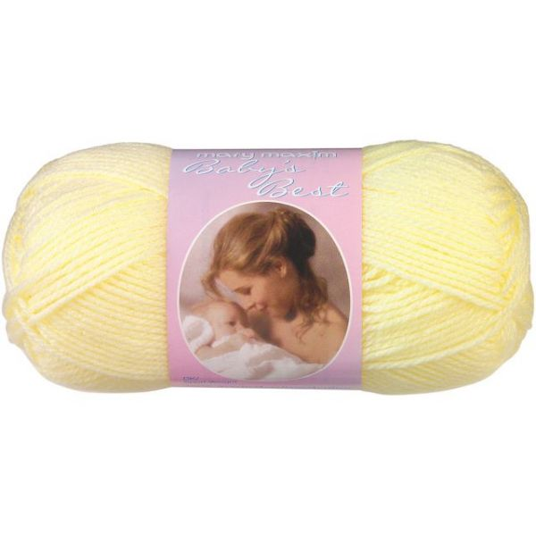 Mary Maxim Baby's Best Yarn - Lemon