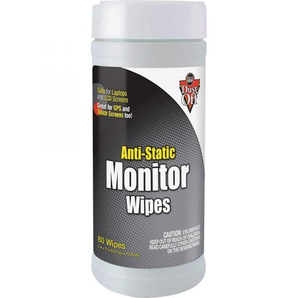 Falcon Anti-Static Monitor Wipes