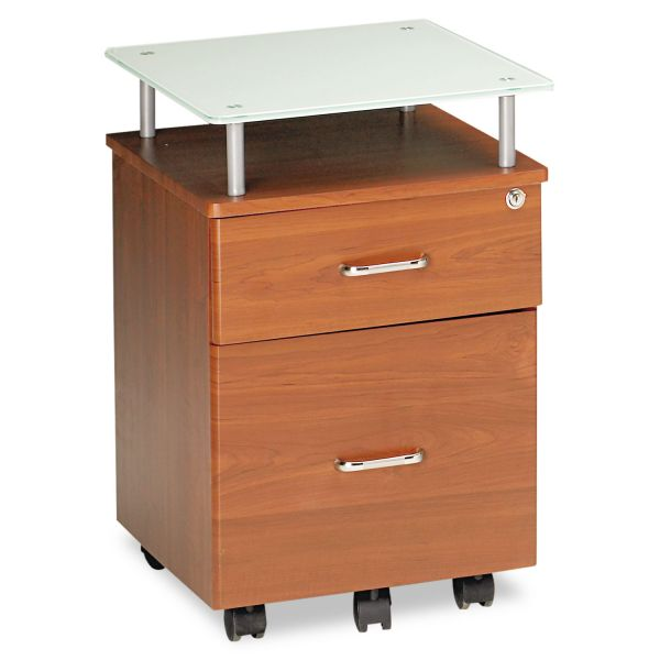 Mayline Eastwinds Vision 2-Drawer Mobile File Cabinet