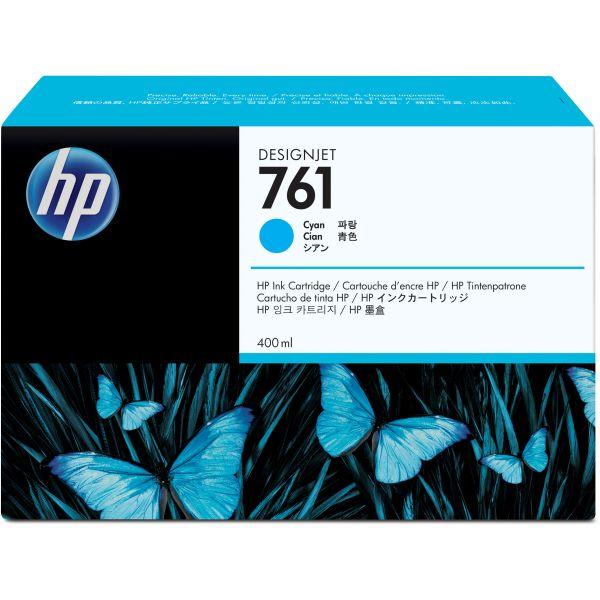 HP 761 Cyan Ink Cartridge (CM994A)