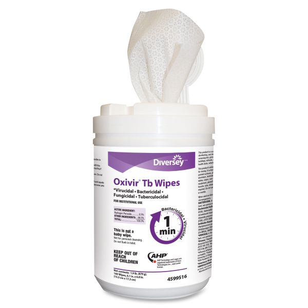 Diversey Ready-to-Use Sanitizing Wipes