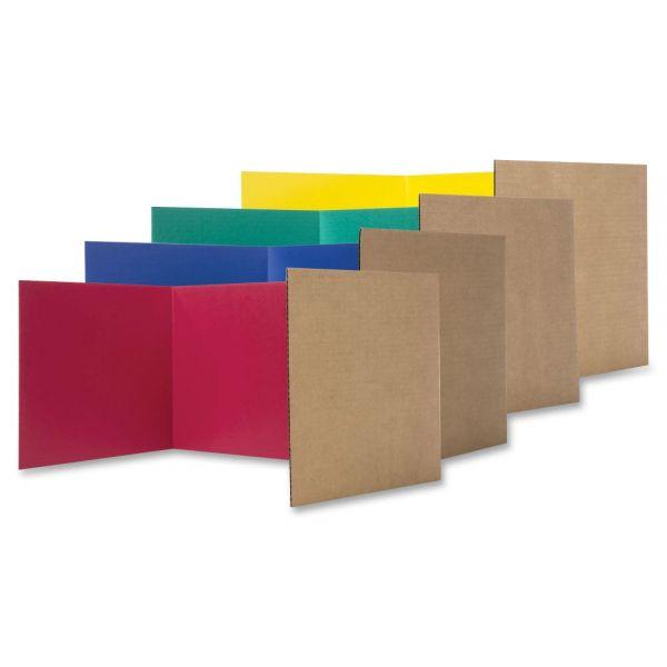 Flipside Color Tri-fold Study Carrel