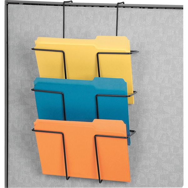 Fellowes Wire Partition Additions Triple Wall File Pockets
