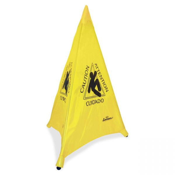 """Continental """"Caution/Attention/ Cuidado"""" Pop-up Safety Cone"""