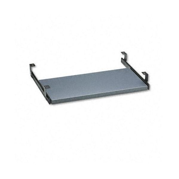 Global Adaptabilities Pullout Keyboard Tray, 22 x 17, Storm Gray