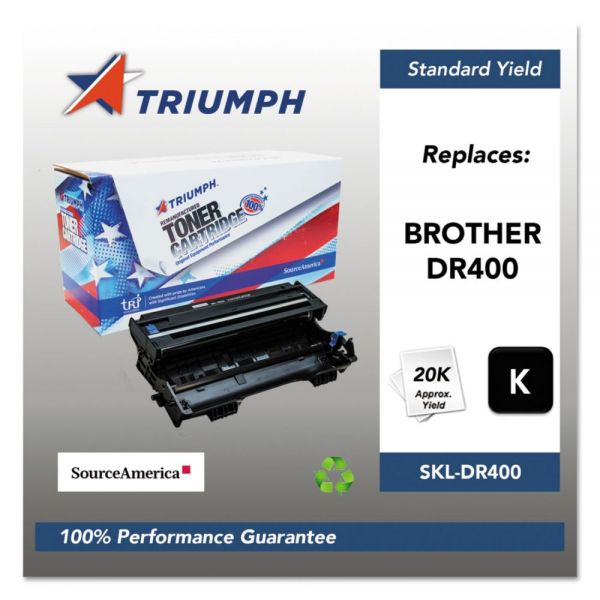 Triumph 751000NSH0123 Remanufactured DR400 Drum Unit, Black