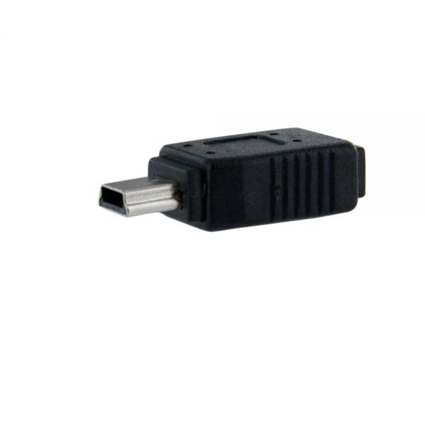 StarTech.com Micro USB to Mini USB 2.0 Adapter F/M