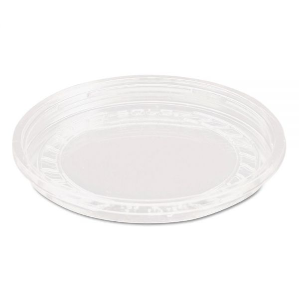 Dart Bare Eco-Forward RPET Deli Container Lids, 8oz, Clear, 50/Pack, 10 Packs/Carton