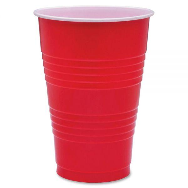 Genuine Joe 16 oz Plastic Cups