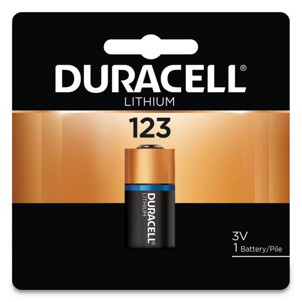 Duracell Ultra High-Power Lithium Battery, 123, 3V, 1/EA