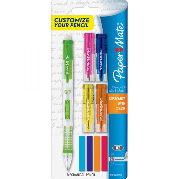 Paper Mate Clearpoint Mix & Match 0.7 Mechanical Pencil