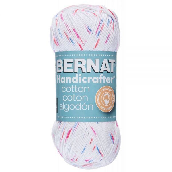 Bernat Handicrafter Cotton Yarn (340 Grams) - Marble Print