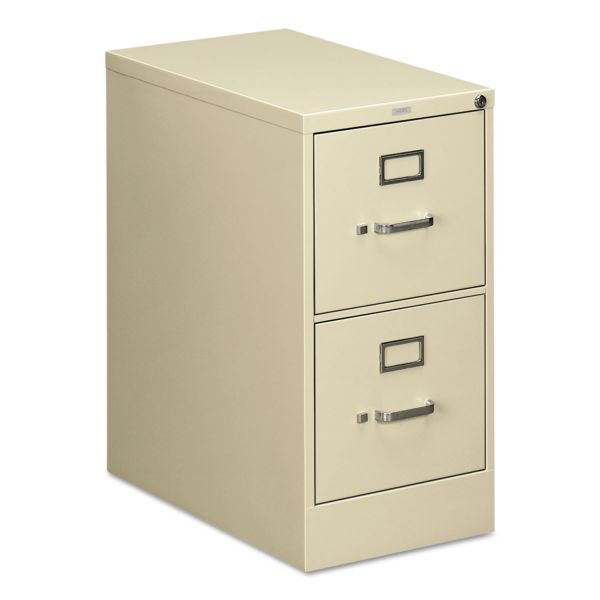 HON 510 Series Two-Drawer Full-Suspension File, Letter, 29h x25d, Putty