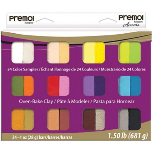 Premo Clay Sampler Pack