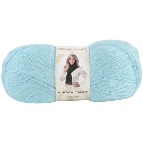 Deborah Norville Collection Alpaca Dance Yarn - Aqua Splash