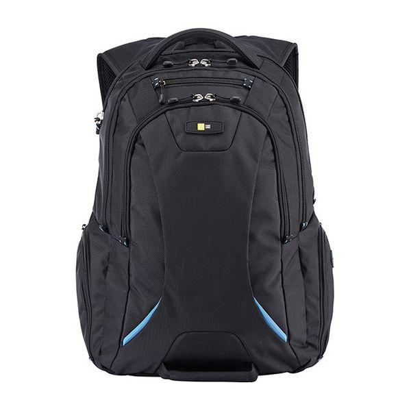 "Case Logic BEBP-115 Carrying Case (Backpack) for 15.6"" Notebook, Tablet, iPad - Black"