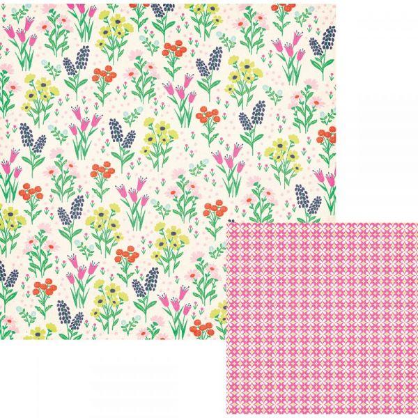"Flower Girl Double-Sided Cardstock 12""X12"""