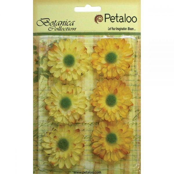 "Botanica Gerbera Daisies 1.75"" 6/Pkg"