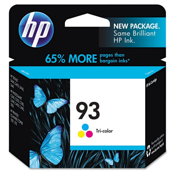 HP 93 Tri-Color Ink Cartridge (C9361WN)